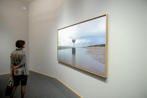 Installation view: Untitled (Forged Territories I), exhibition Disturbances, Musée national d'histoire et d'art, Luxembourg, 2007