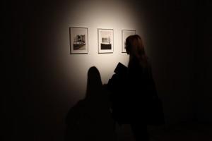 watercolours, each 25 cm x 34 cm unframed, exhibition view Building Desire,  Museum of Contemporary Art Vojvodina
